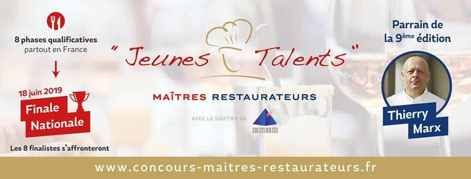 Le concours Jeunes Talents – Maîtres Restaurateurs 2019